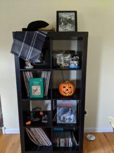Halloween house tour - sleepy hollow decor