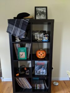 Halloween house tour - sleepy hollow decor