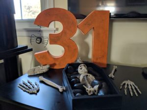Halloween house tour - the number 31