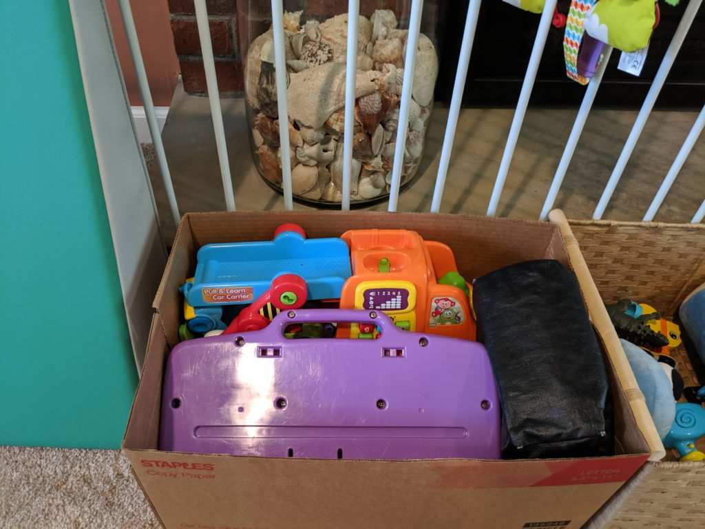 A packed box from my toy rotation system to show how nicely every fits!