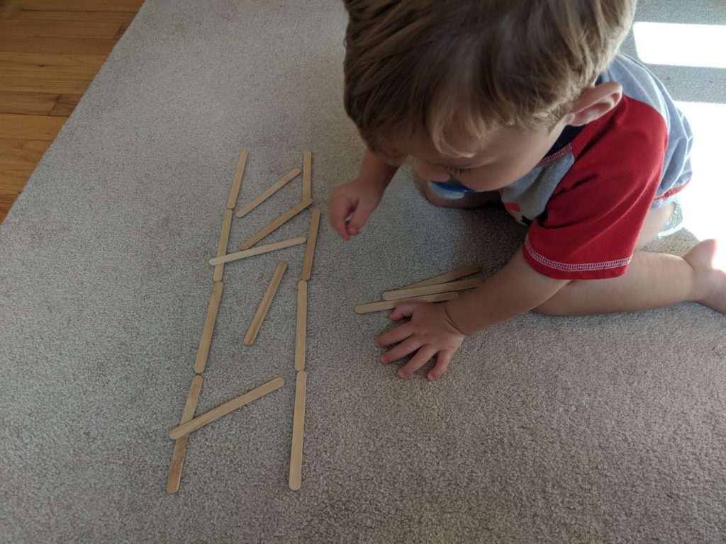 Ladder building activity