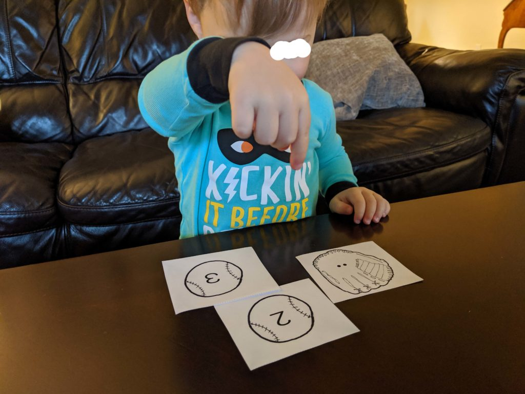 Sports Counting Activity