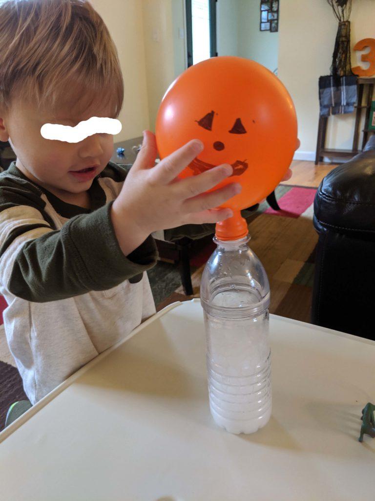 Jack-o-lantern magic